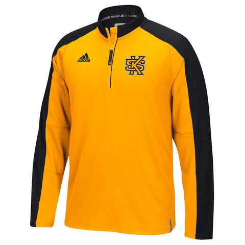 Kennesaw State Owls Adidas NCAA Men's Gold Sideline Climalite Knit