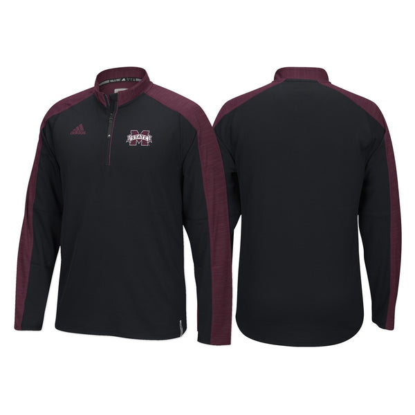 Mississippi State Bulldogs Adidas NCAA Men's Black Sideline Climalite Knit