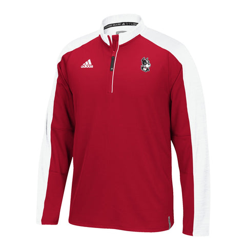 Boston University Terriers NCAA Adidas Men's 2016 Sideline Red Sideline Knit
