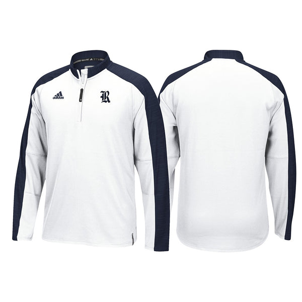Rice Owls Adidas NCAA Men's White Sideline Climalite Knit (M)