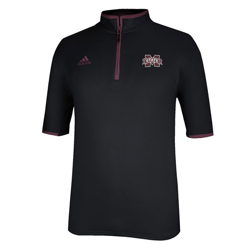 Mississippi State Bulldogs Adidas NCAA Men's  Sideline Coaches Knit Shirt (3XL)