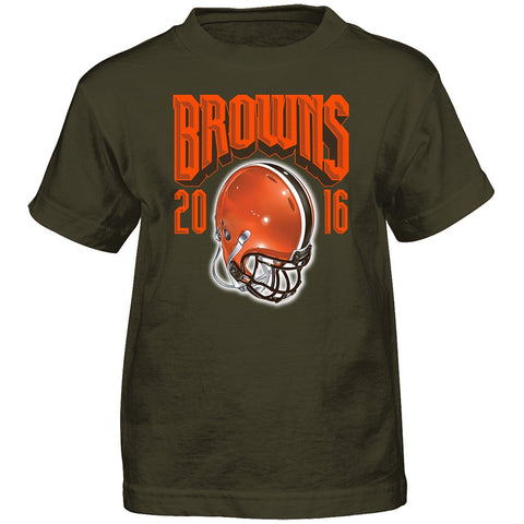 "Cleveland Browns Outerstuff NFL Boys Brown ""Strength of Sched"" T-Shirt"
