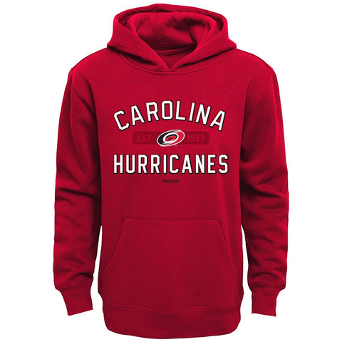 "Carolina Hurricanes NHL Reebok ""Todays Highlights"" Pullover Hoodie Boys (4-7)"