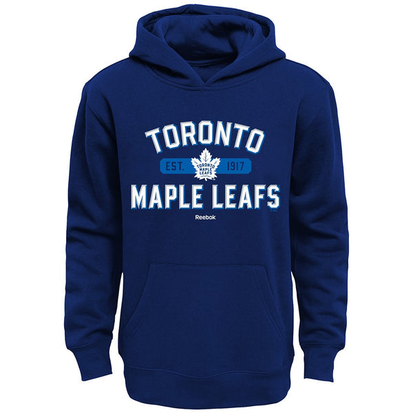 "Toronto Maple Leafs Reebok NHL ""Todays Highlights"" Pullover Hoodie Youth (S-XL)"