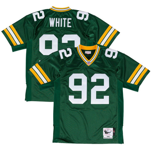 1996 Reggie White NFL Green Bay Packers Mitchell & Ness Authentic Home  Jersey