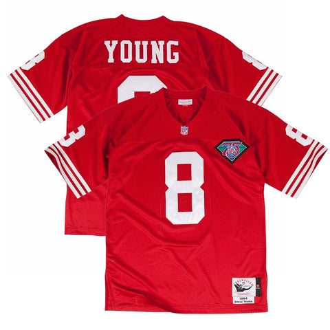 1994 Steve Young NFL San Francisco 49ers Mitchell & Ness Authentic Home Jersey
