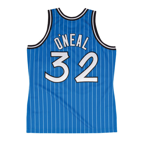 Shaquille O'Neal 1994-95 Orlando Magic Mitchell & Ness Authentic Alt Blue Jersey