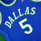 1994-95 Jason Kidd NBA Dallas Mavericks Mitchell & Ness Authentic Away Jersey