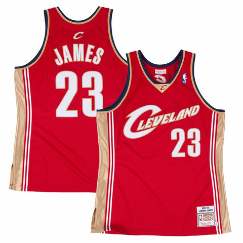 2003-04 Lebron James Cleveland Cavliers   MITCHELL & NESS Authentic Jersey