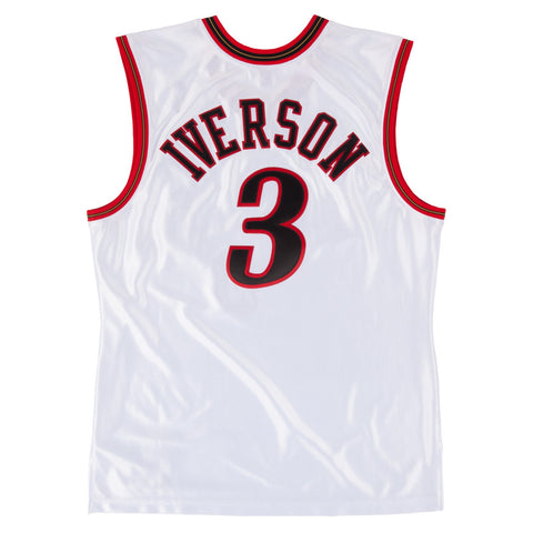 Allen Iverson 2001 Philadelphia 76ers Mitchell & Ness Authentic All Star Jersey