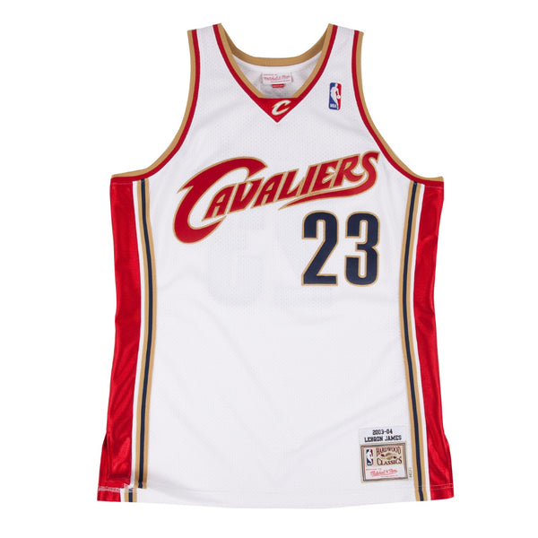 LeBron James 2003-04 Cleveland Cavaliers Mitchell & Ness Authentic Home Jersey