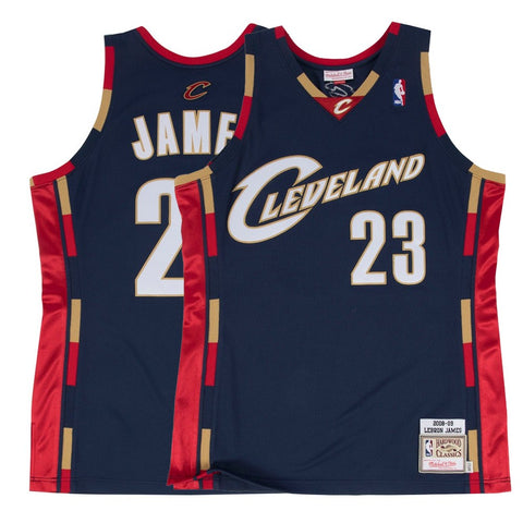 1967-68 LeBron James NBA Cleveland Cavaliers Mitchell & Ness Authentic Jersey