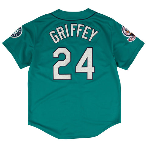 Ken Griffey Jr 1995 Mitchell & Ness Seattle Mariners Authentic Alt Teal Jersey