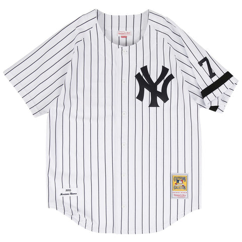 Mariano Rivera 1995 Mitchell & Ness New York Yankees Authentic Home Jersey Men's