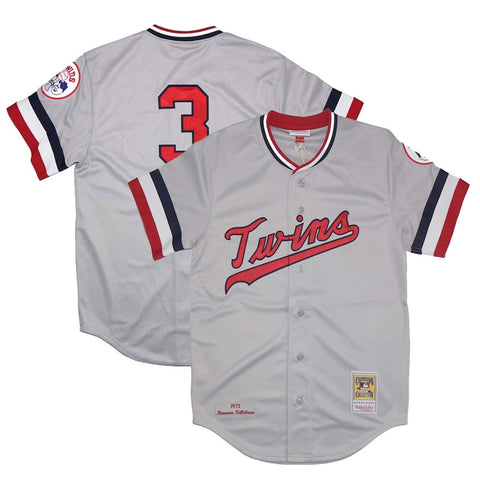 1972 Harmon Killebrew MLB Minnesota Twins Mitchell & Ness Authentic Road Jersey