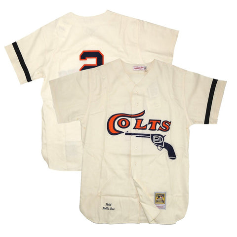 1964 Nellie Fox MLB Houston Colt .45s Mitchell & Ness Authentic Home Jersey
