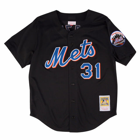 Mike Piazza 2000 New York Mets Mitchell & Ness Black Batting Practice Jersey