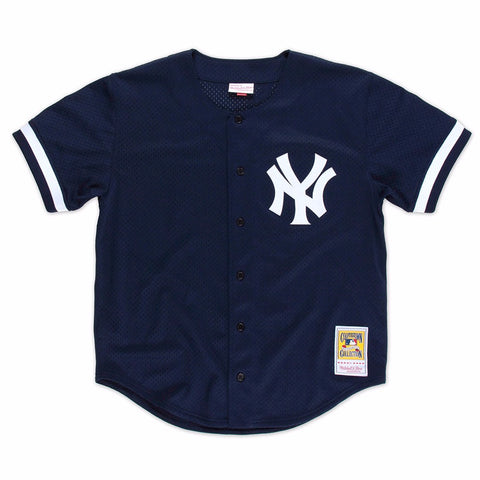 Bernie Williams 1998 New York Yankees Mitchell & Ness Authentic BP Jersey Men's