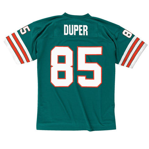 Mark Duper 1984 Miami Dolphins Mitchell & Ness Home Aqua Legacy Jersey Men's