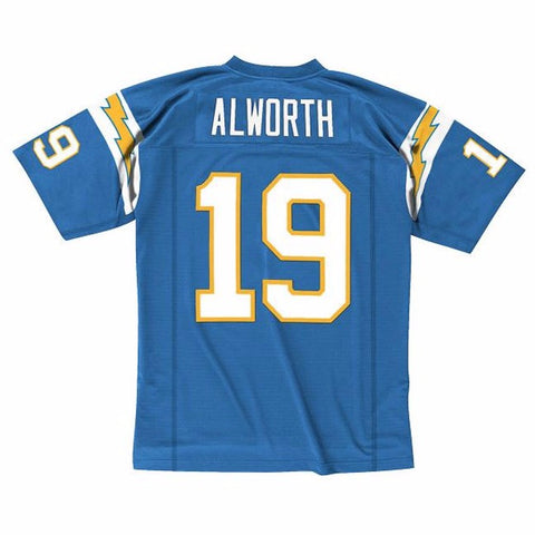 Lance Alworth 1963 San Diego Chargers Mitchell & Ness Home Light Blue Jersey