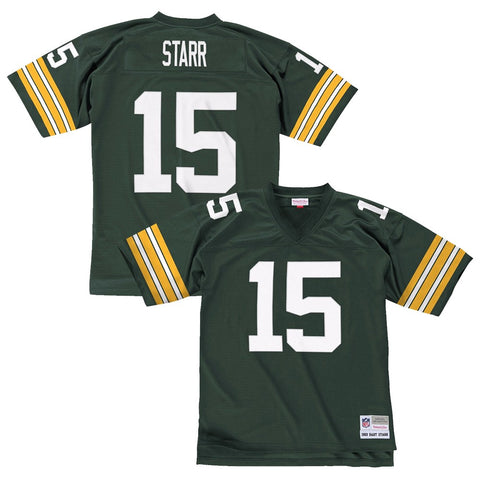 Bart Starr 1969 Green Bay Packers Mitchell & Ness Home Green Legacy Jersey Men's