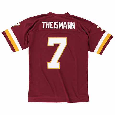 Joe Theismann 1982 Washington Redskins Mitchell & Ness Home Maroon Legacy Jersey