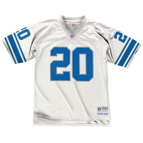 Barry Sanders Detroit Lions Mitchell & Ness 1996 Legacy Away Men's Jersey