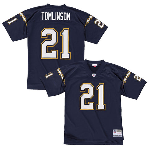 Ladainian Tomlinson 2006 San Diego Chargers Mitchell & Ness Home Navy Jersey Men