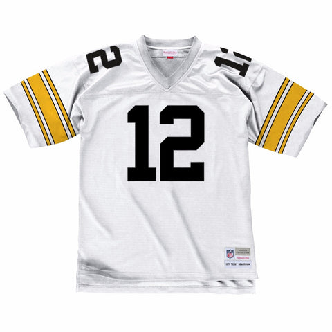 Terry Bradshaw 1976 Pittsburgh Steelers Mitchell & Ness Road Legacy Jersey