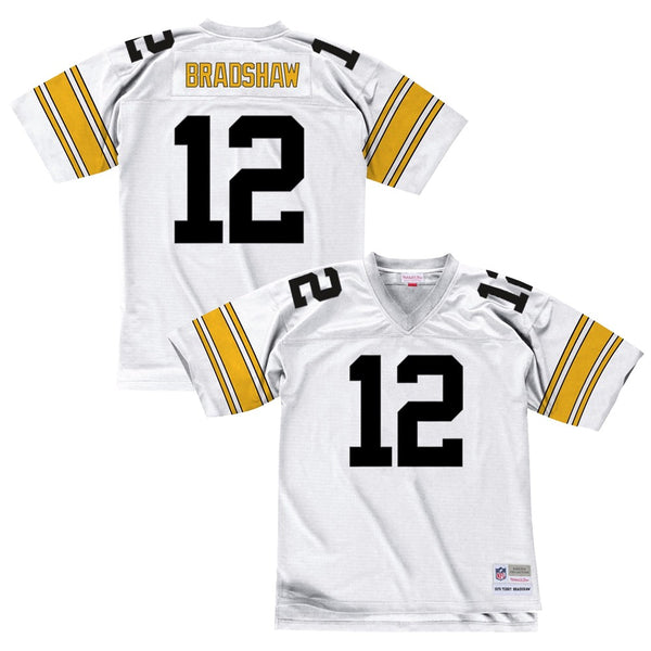 f90451752f2 Terry Bradshaw 1976 Pittsburgh Steelers Mitchell   Ness Road Legacy Jersey