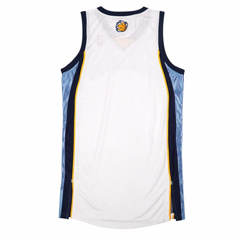 Memphis Grizzlies Authentic On-Court Team Issued Pro Cut White Jersey Men's