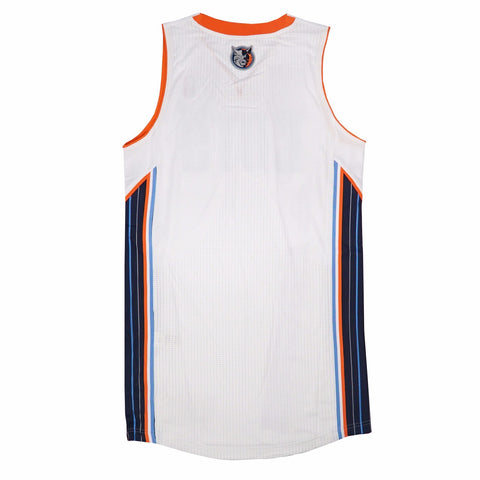 Charlotte Bobcats Authentic On-Court Team Issued Pro Cut White Jersey Men's