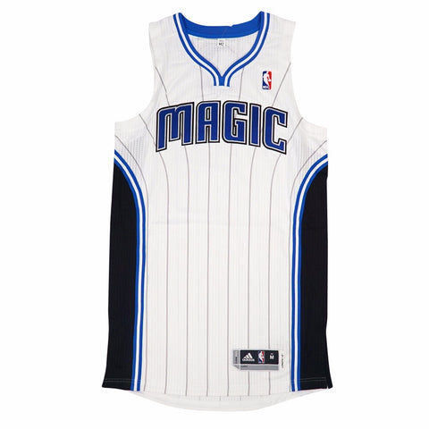 Orlando Magic adidas Authentic On-Court Team Issued Pro Cut White Jersey Men's
