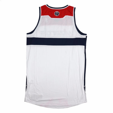 Washington Wizards Authentic On-Court Team Issued Pro Cut White Jersey Men's