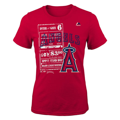 "Los Angeles Angels Majestic MLB Youth Youth ""Terrorizing Play"" Graphic T-Shirt"