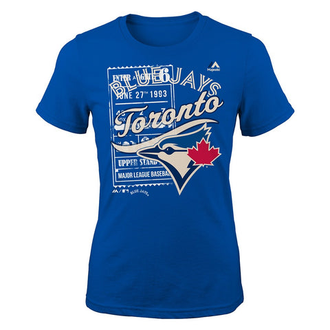 "Toronto Blue Jays Majestic MLB Youth Youth ""Terrorizing Play"" Graphic T-Shirt"