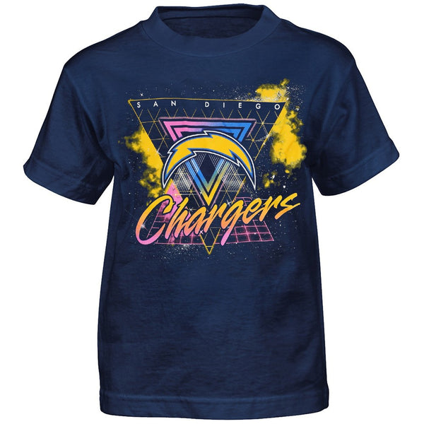 "Los Angeles Chargers Outerstuff NFL Youth Navy Blue ""Explosion"" T-Shirt"