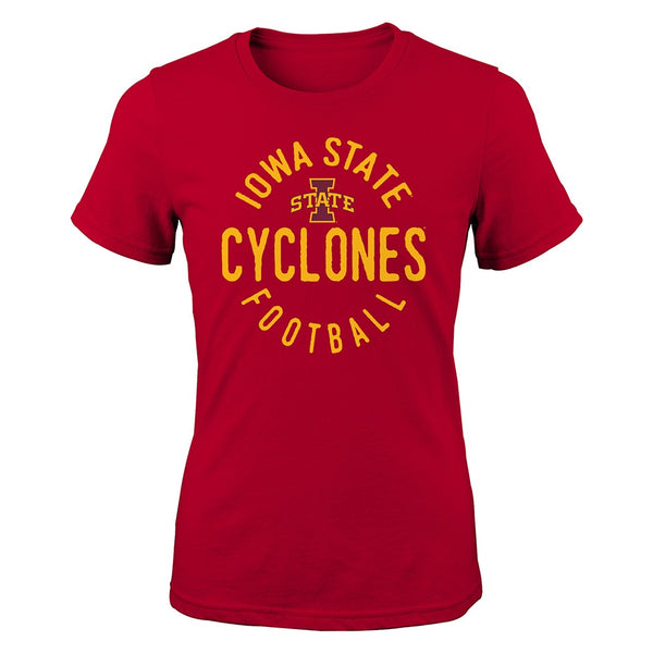 "Iowa State Cyclones NCAA Youth Red ""Full Circle"" T-Shirt"