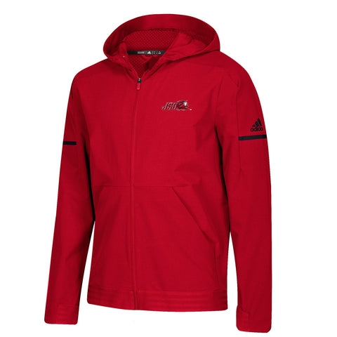 Jacksonville State Gamecocks NCAA Adidas Men's 2018 Sideline Red Woven Jacket