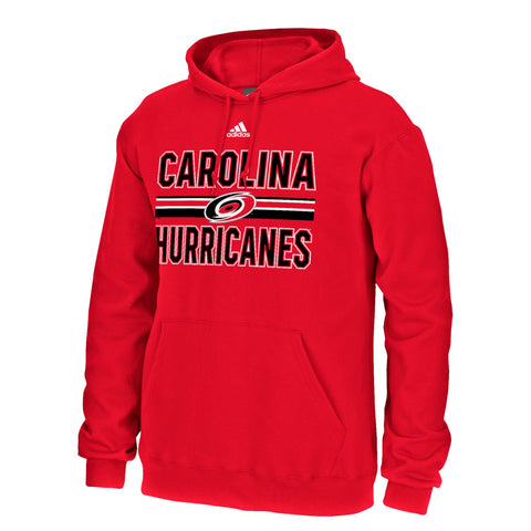 "Carolina Hurricanes NHL Adidas Men's Red ""Face Wash"" Team Graphic Fleece"