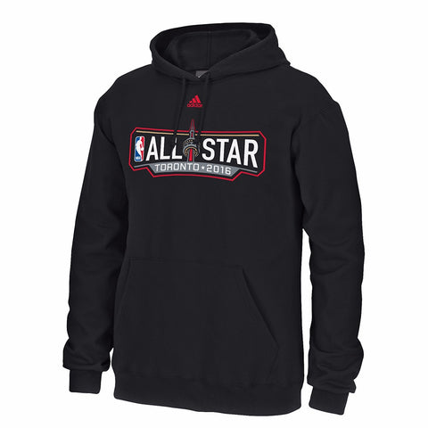 2016 NBA All Star Toronto Primary Logo 9 OZ Pullover Men's Hoodie