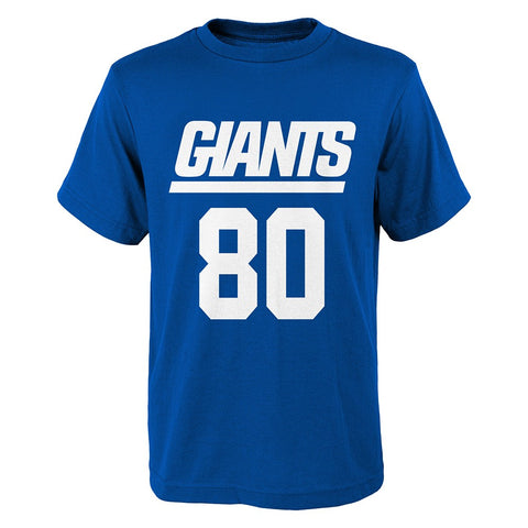 "Victor Cruz NFL New York Giants ""Mainliner"" Jersey Blue T-Shirt Youth (S-XL)"
