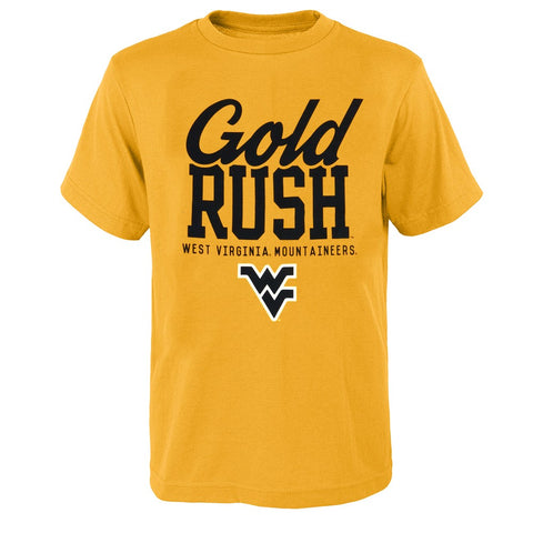 "West Virginia Mountaineers NCAA Youth Gold ""Local Flavor"" T-Shirt"