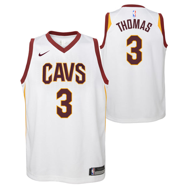 Isaiah Thomas Cleveland Cavaliers NBA Nike Youth White Association Swingman Jersey