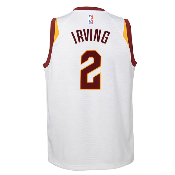 Kyrie Irving Cleveland Cavaliers Nike White Association Swingman Jersey Youth