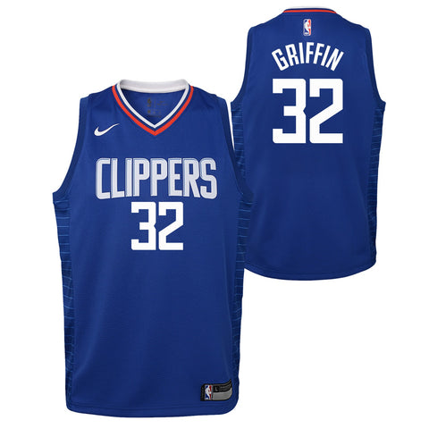 Blake Griffin Los Angeles Clippers NBA Nike Youth Blue Icon Swingman Jersey