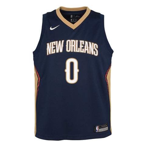 Demarcus Cousins New Orleans Pelicans NBA Nike Youth Navy Blue Icon Swingman Jersey