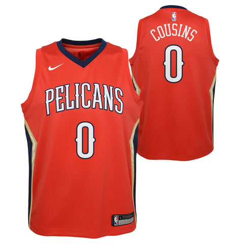 Demarcus Cousins New Orleans Pelicans NBA Nike Youth Red Statement Swingman Jersey