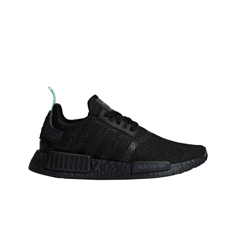 Adidas Originals NMD_R1 (Black/Black/Clear Mint) Men's Shoes AQ1102
