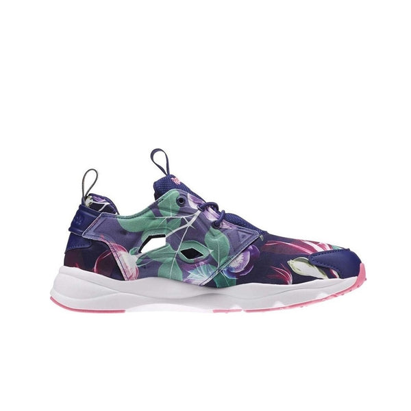 Reebok Furylite Graphic (FLORAL-NIGHT NAVY/PHANTOM) Women's Shoes AQ9837